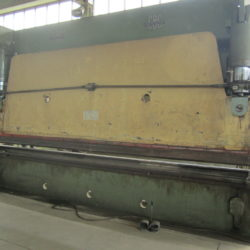 Piegatrice usata CBC 6050 x 200 Ton