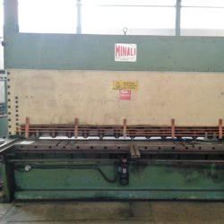 Cesoia Idraulica Usata Minali 3050 x 8/10 mm