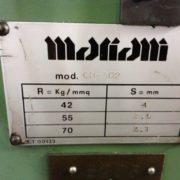 Cesoia Usata Mariani 3000 x 4 mm