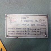 Cesoia Usata Imal 2050 x 15 mm