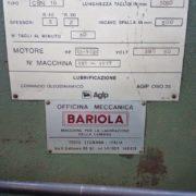 Cesoia Usata Bariola 3050 x 3-4 mm