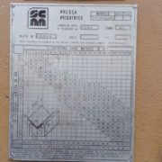 Piegatrice Usata SCM 4050 x 80 TON