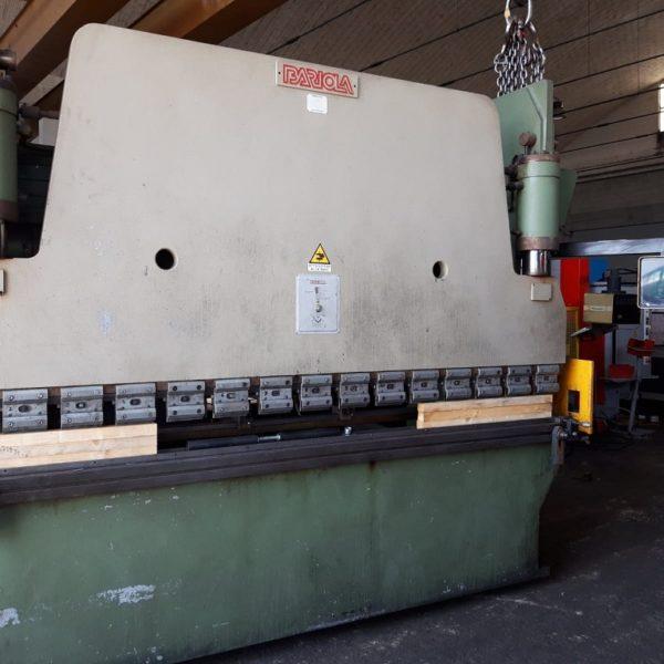 Piegatrice Idraulica Bariola Usata 3000 X 135 Ton