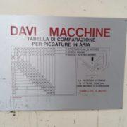 Piegatrice Idraulica Usata Davi 4000 X 30 TON