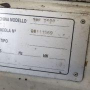 Tornio Parallelo Usato Sinomac Modello TPE 2520