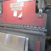 Piegatrice Gade Usata 3200 x 90 Ton a cnc