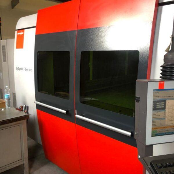 Taglio Laser Bystronic BySprint Fiber 3015 Usato