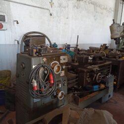 Tornio Breda 180 Usato  Modello BRM 180  1000 x 180