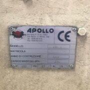 Scantonatrice Apollo Usata
